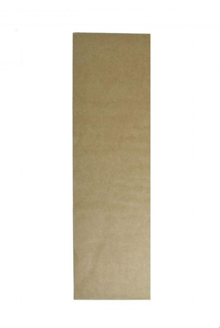 UNBLEACHED Greaseproof Paper - 1/6 Cut [6 Out] 400 x 110mm
