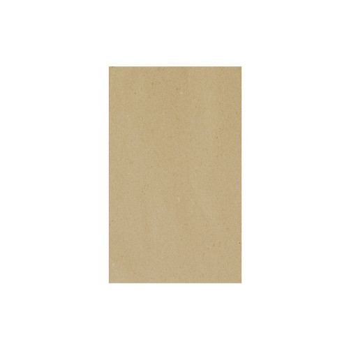 Greaseproof Paper - BROWN KRAFT PLAIN - 1/3 Cut [3 Out] - 400 x 220mm - 1200/BDL