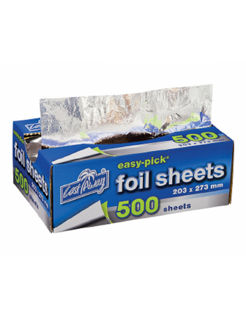 Foil Wrap Sheets - 175 x 225mm (6pkts x 500 sheets) - [CA-FS-SML]