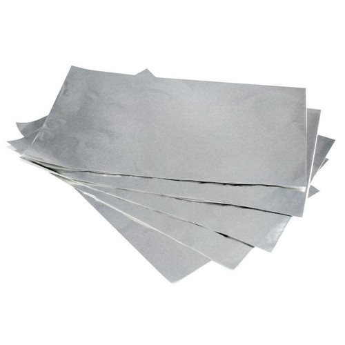 Foil Sheet - Silver 305 x 273mm 13um (6pkts x 500 sheets) 3000/CTN