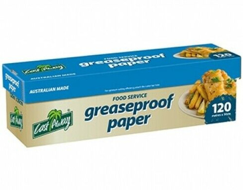 GREASEPROOF Paper on a ROLL 30cm x 120M [CA-GP-ROLL]