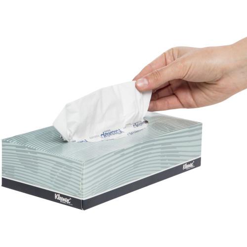 Facial Tissue - 100sht 2ply Kleenex Executive White [4720B]