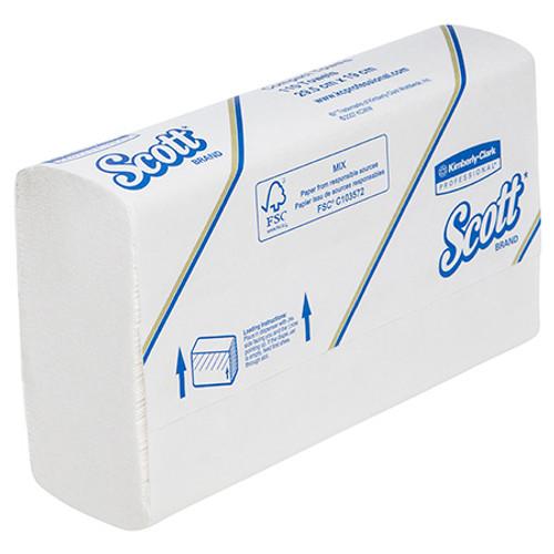 Compact Hand Towel - Scott White 295 x 190cm [5855]