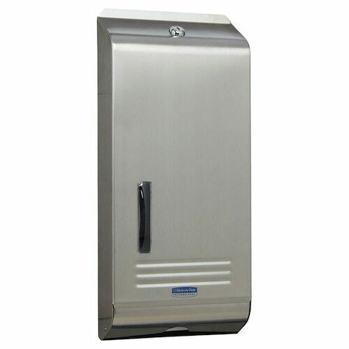 Hand Towel Dispenser - Compact KCA Stainless Steel Lockable with Window [4970]