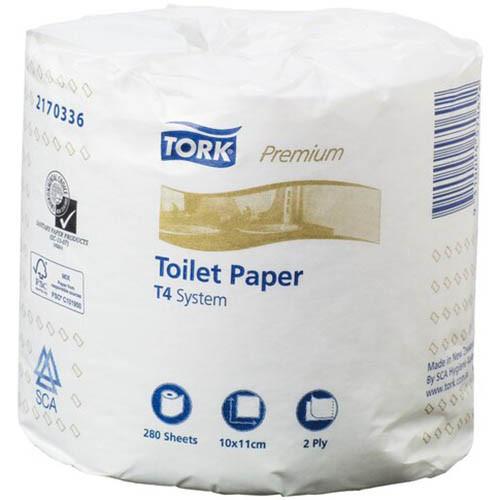 Toilet Roll 280sht 2Ply - TORK Extra Soft [2170336] T4