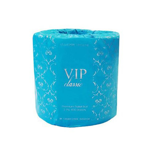 Toilet Roll 400sht 2Ply - VIP CLASSIC [0454130] Individually Wrapped