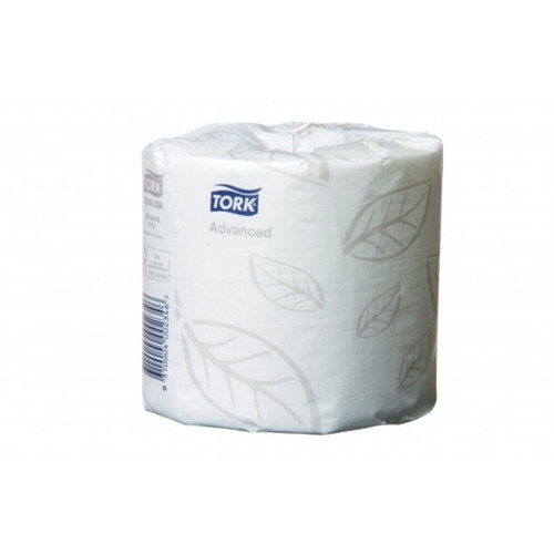 Toilet Roll 400sht 2Ply - Tork Advanced Individually Wrapped [0000234] T4