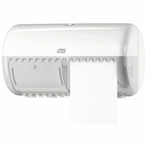 Toilet Roll Dispenser - Dualine Tork ABS Plastic Lockable [242082/556000] T4
