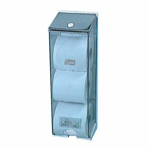 Toilet Roll Dispenser - Tripleline Tork ABS Plastic [0000692] T4