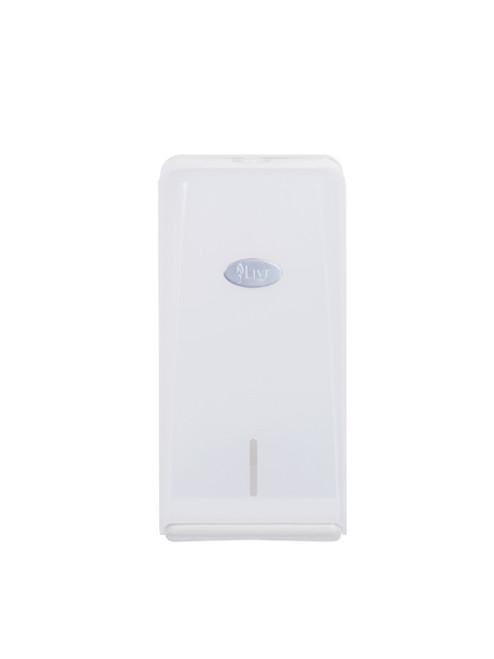DISPENSER - Interleaved Toilet Paper - ABS Plastic LIVI Lockable [5003]