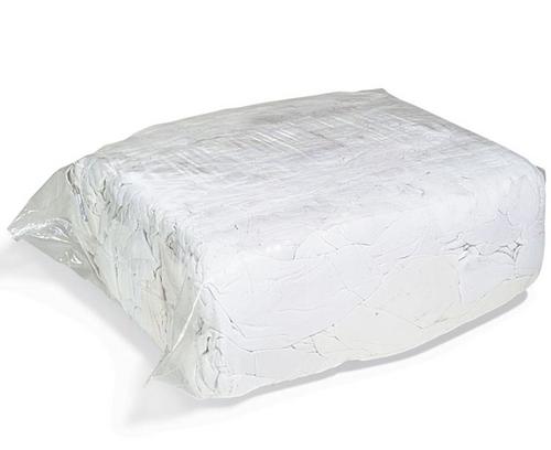 Rags - Sheeting White 100% Cotton Lint Free - 10 kg