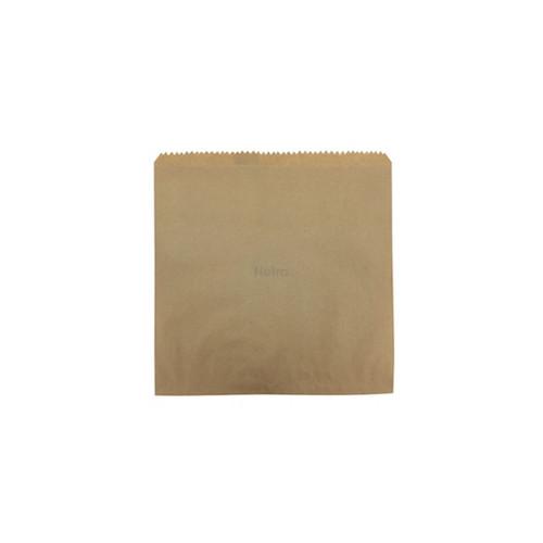 Brown Paper Bag - 3 Square 240 x 240 mm
