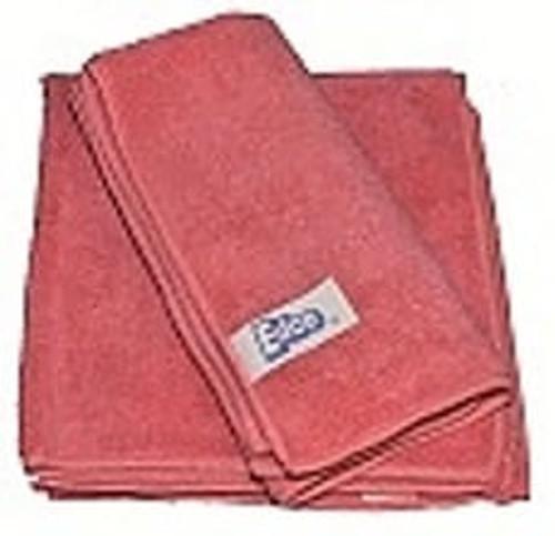 Microfibre Cloth PREMIUM 40x40cm - RED 3/pkt