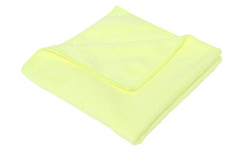 Microfibre Cloth PREMIUM 40x40cm - YELLOW 3/pkt