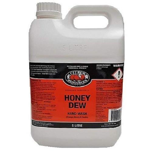 HONEY DEW - Natural Heavy Duty Handwash / Shower Gel Contains Citrus Oils Suitable for Senstaive Skin PH: 6.5 - 7.5