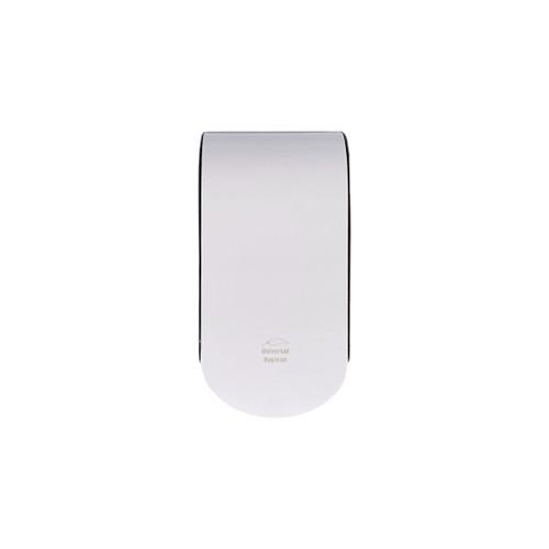 Dispenser - Hand Soap 1000ml (COMPACT) 118.5 x 90x 224.5mm - Side Window - BLACK/WHITE