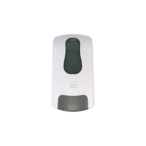 Dispenser - Hand Soap 1000ml (MANUAL) - Wall Mounted - Bulk fill - ABS Plastic - 160 x 110 x 280mm - WHITE
