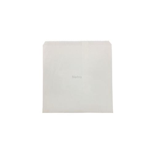 White Paper Bag - 3 Square 240 x 240 mm