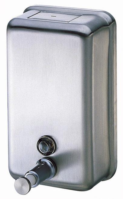 Dispenser - Hand Soap 1000ml Bulk fill St/Steel VERTICAL [DISP_SD1000V]