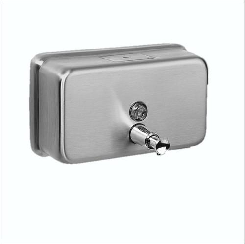 Dispenser - Hand Soap 1200ml Bulk fill St/Steel Horizontal [SDH 12] Heavy Duty