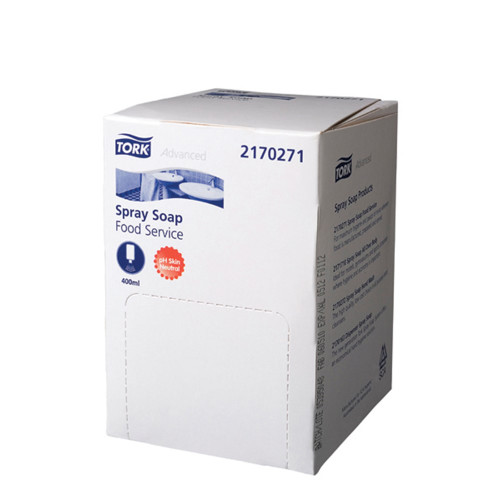Hand Soap Pods - Tork Spray Soap Food Service [2170271] 400ml Pods