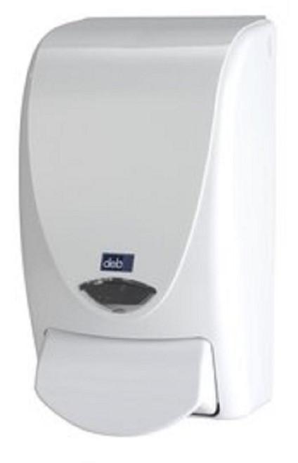 Dispenser - Foam Soap DEB Stoko PROLINE Plain White [DIS2122] to suit 1L DEB Foam Soap Pod