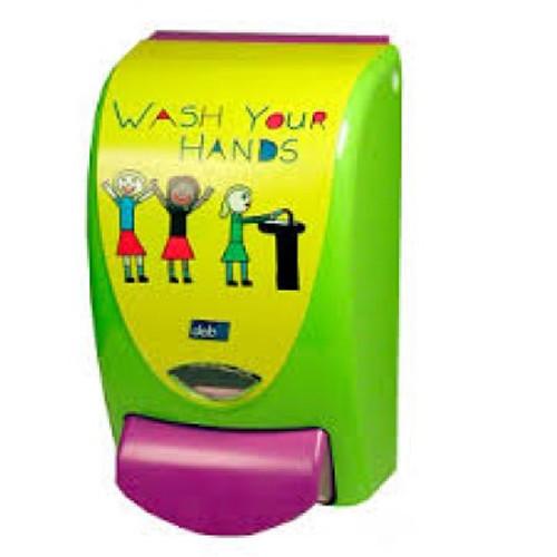 "Dispenser - Foam Soap DEB Stoko PROLINE ""WASH YOUR HANDS"" [DIS2123] to suit 1L DEB Foam Soap Pod"