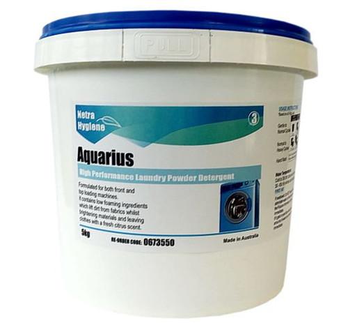 AQUARIUS - Laundry Powder for Front & Top Load Machines 5kg