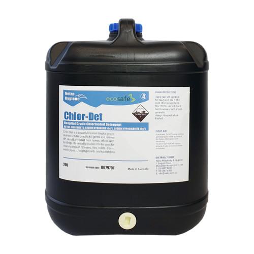 CHLORDET- Chlorinated Detergent/Disinfectant/Sanitiser 20L