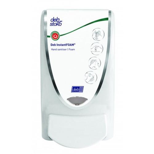 Dispenser - to Suit DEB InstantFOAM 1L Sanitiser White BioCote [SAN1LDS]