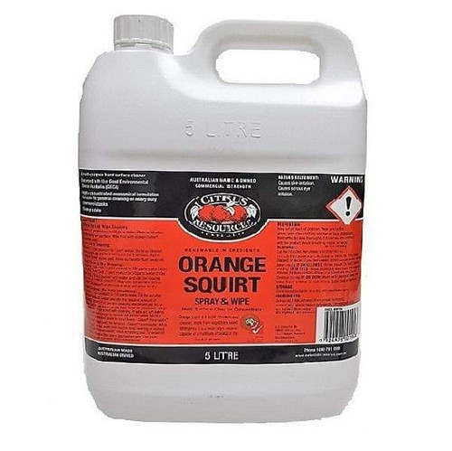 ORANGE SQUIRT Multi Purpose Cleaner/Degreaser with D-Limonene & Vegetable based Detergents