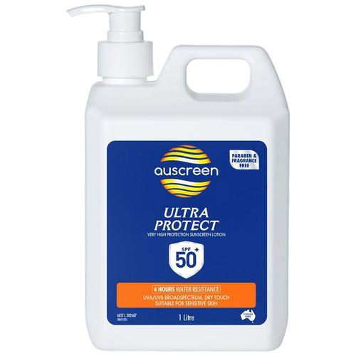 Sunscreen - ULTRA PROTECT SPF50+ PARABEN FREE C/W Pump