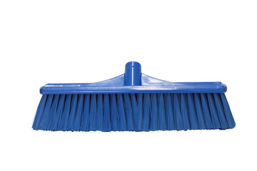 Platform Broom Head ONLY - 60cm Poly Stock with HARD Poly Bristtles