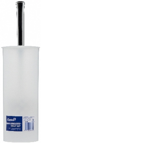 Toilet Tidy Set - ENCLOSED - Tall Cylinder Type - [B-40046] - OATES