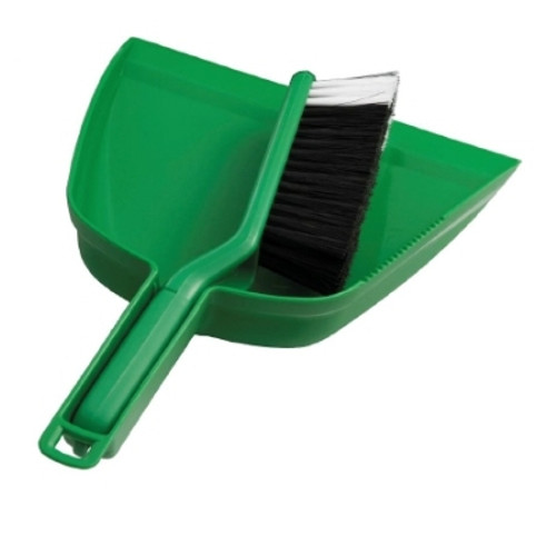 Dust Pan Set - GREEN