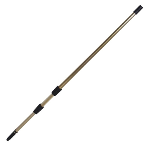 Telescopic Extension Pole SILVER - 3 Section (3 x 1.5M) Total Length 4.5M