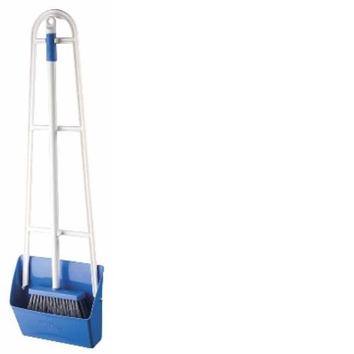 Lobby Pan SET with Broom - OATES Slimline - [B-11117] - BLUE