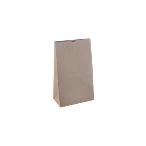 SOS Paper Bag - Brown Kraft Plain - SMALL (#6)