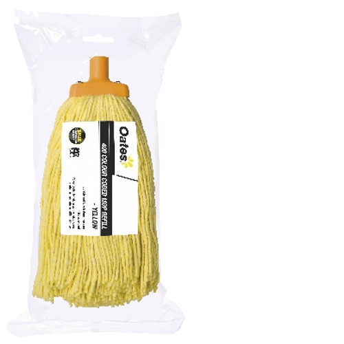 Mophead ONLY - 400gm (#22) Value - YELLOW - [MH-VA-01Y] - OATES