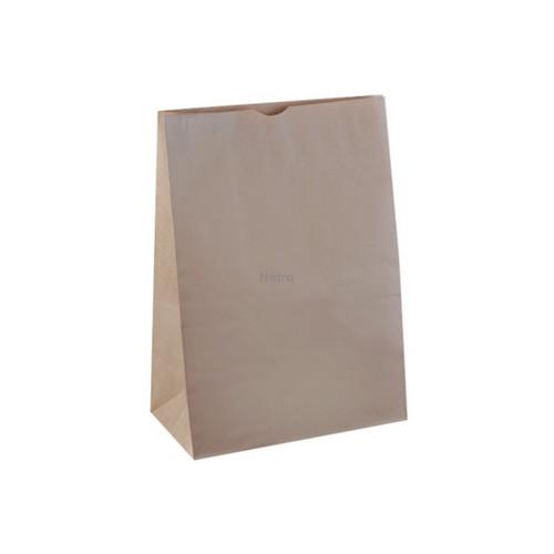 SOS Paper Bag - Brown Kraft Plain - LARGE (#16)
