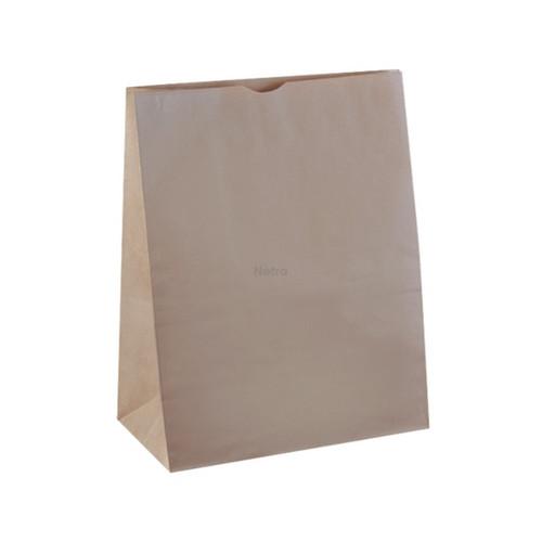 SOS Paper Bag - Brown Kraft Plain - X-LARGE  (#20)