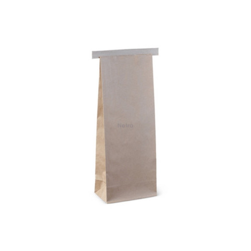 SOS Retail Bag - 250g Small Brown Polylined with Tin Tie