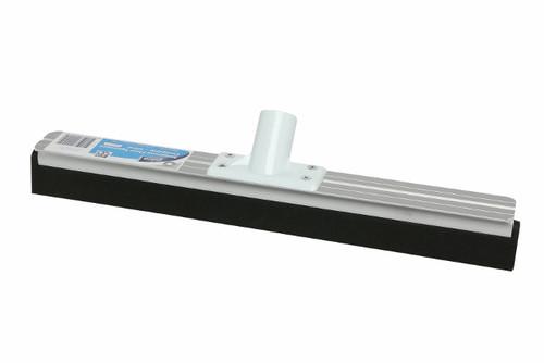 EDCO Black NEOPRENE Floor Squeegee - 45cm Aluminium Stock (No Handle) - [41252]