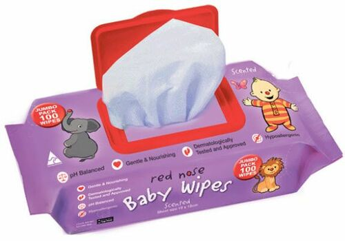 Sids for Kids Red Nose Baby Wipes - Unscented 100's Thick
