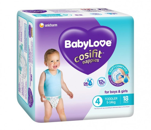 Babylove - Convenience Pack - Toddler / Large 9-14kg - [BLCT72]