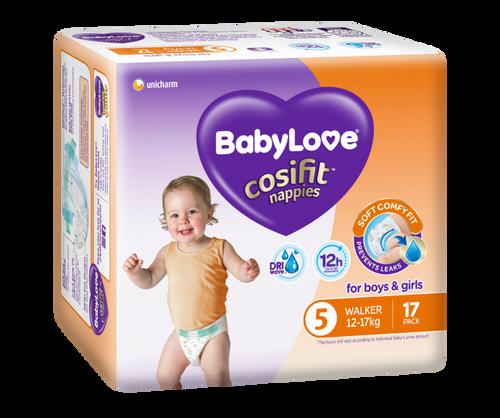 Babylove - Convenience Pack - Walker/Extra Large 12 - 17kg - [BLCW68]