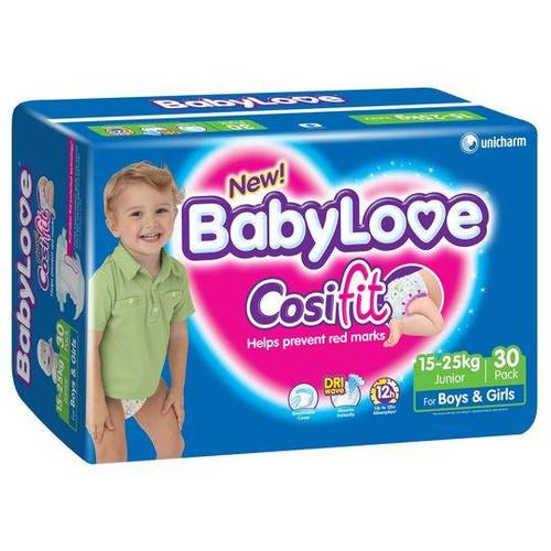 Babylove Cosifit Nappies Junior 15-25kg - [BLHPJ64]