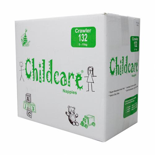 Childcare Nappies - Crawler / Medium 5-11kg - [CCC132]