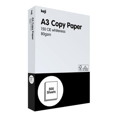 Copy Paper A3 80gsm 500sht/Ream (5 Reams/Ctn)
