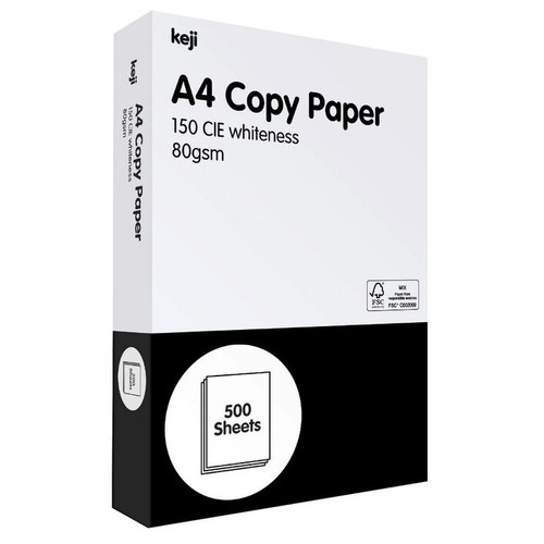 Keji Copy Paper 80gsm 500sht/Ream